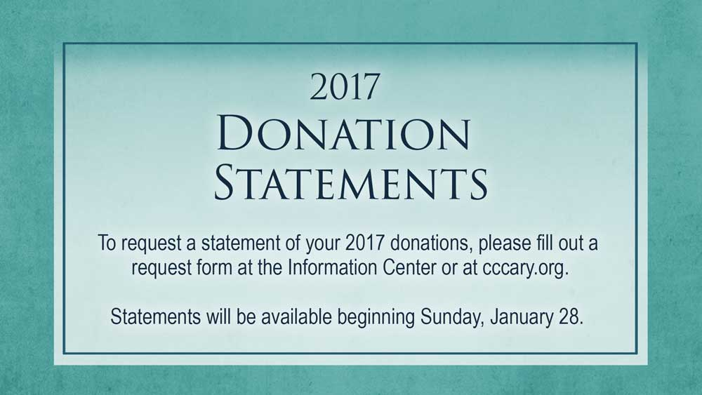 2017 Contribution Statements