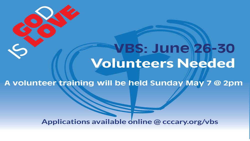 VBS Volunteer Sign Up