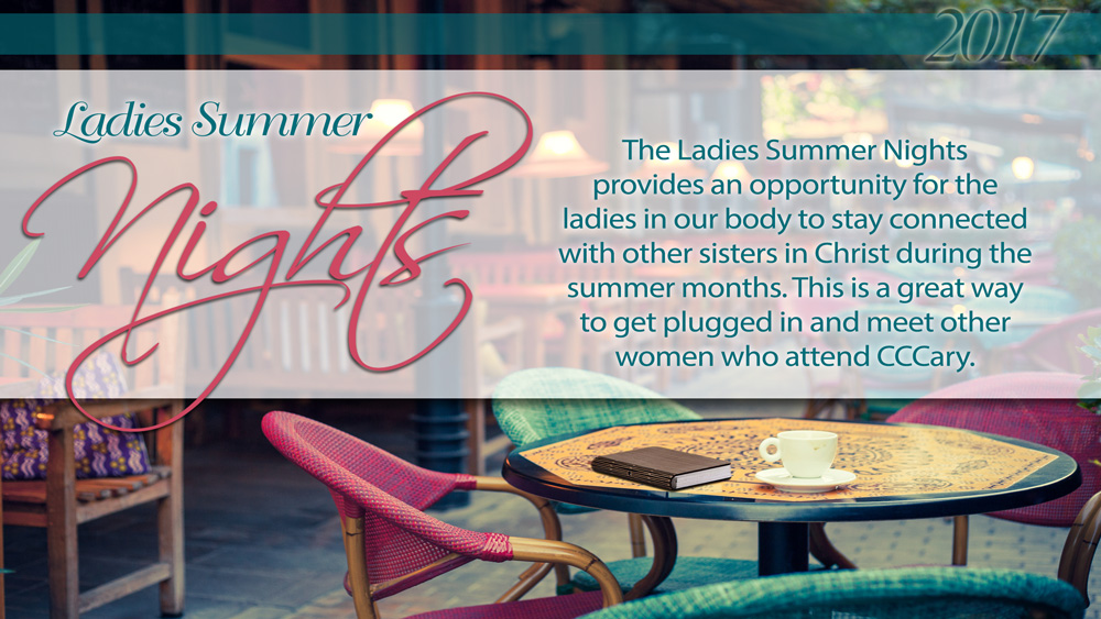 Ladies Summer Nights – 2017
