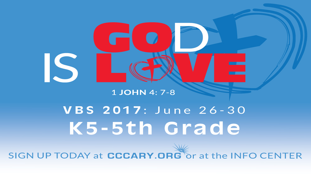 VBS Registration Now Open