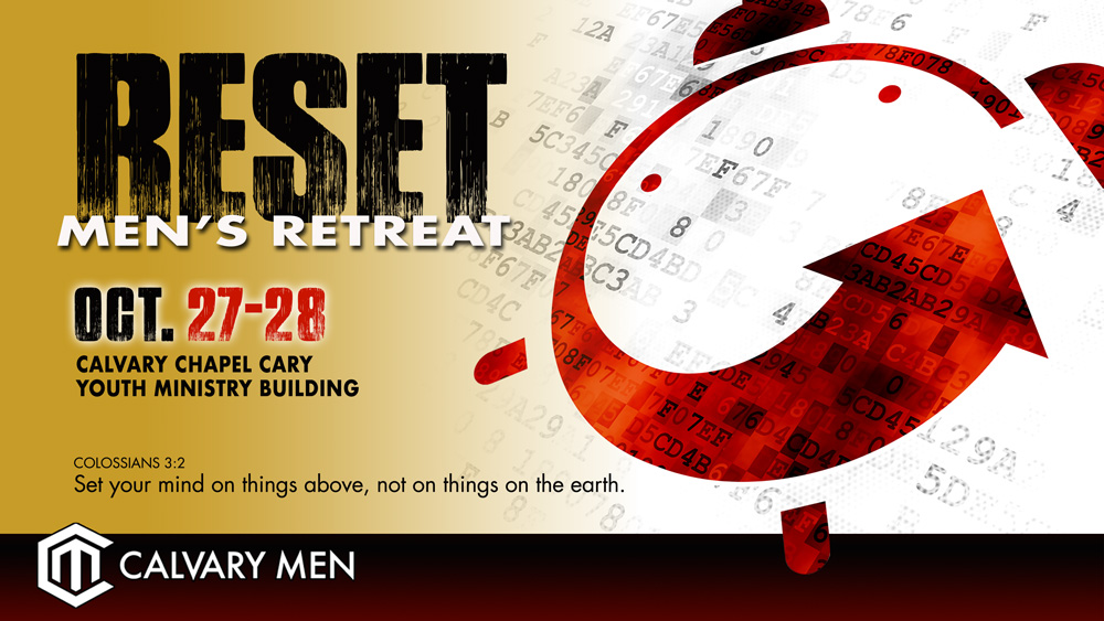 Reset – Men's Retreat