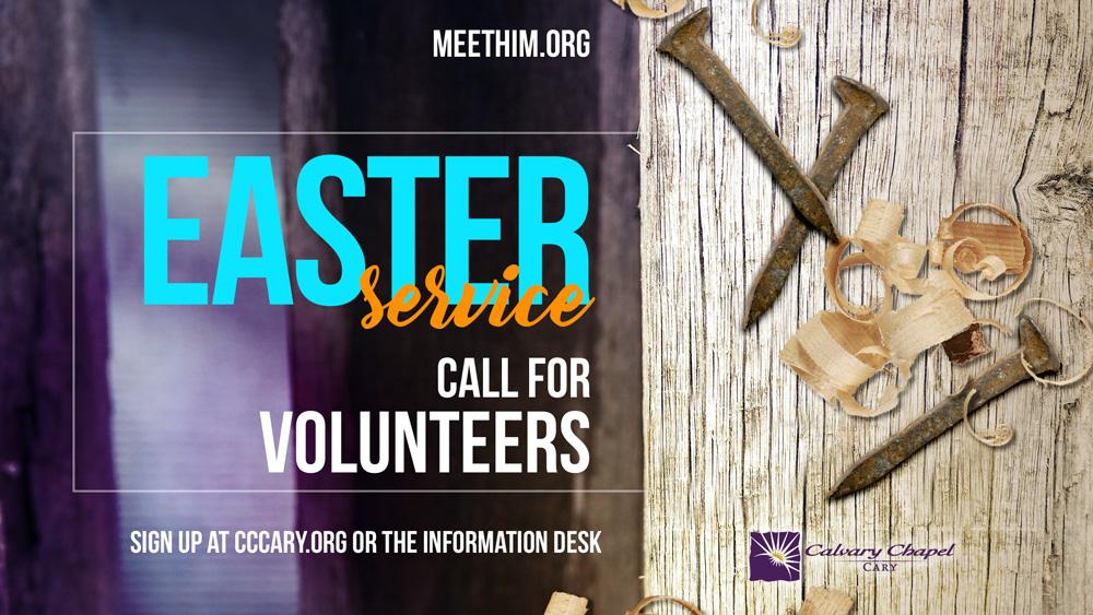 Easter Volunteers
