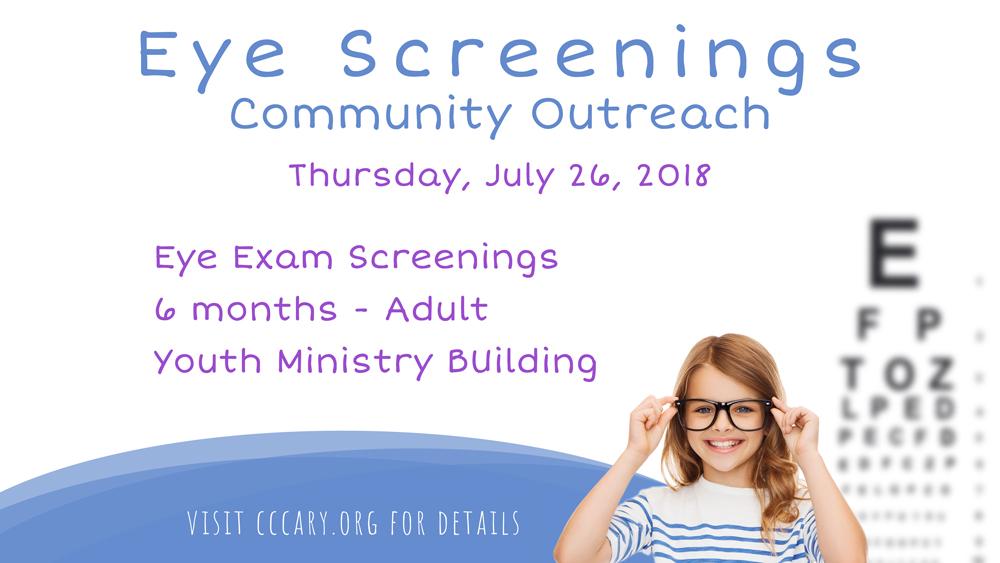 Eye Screening Community Outreach