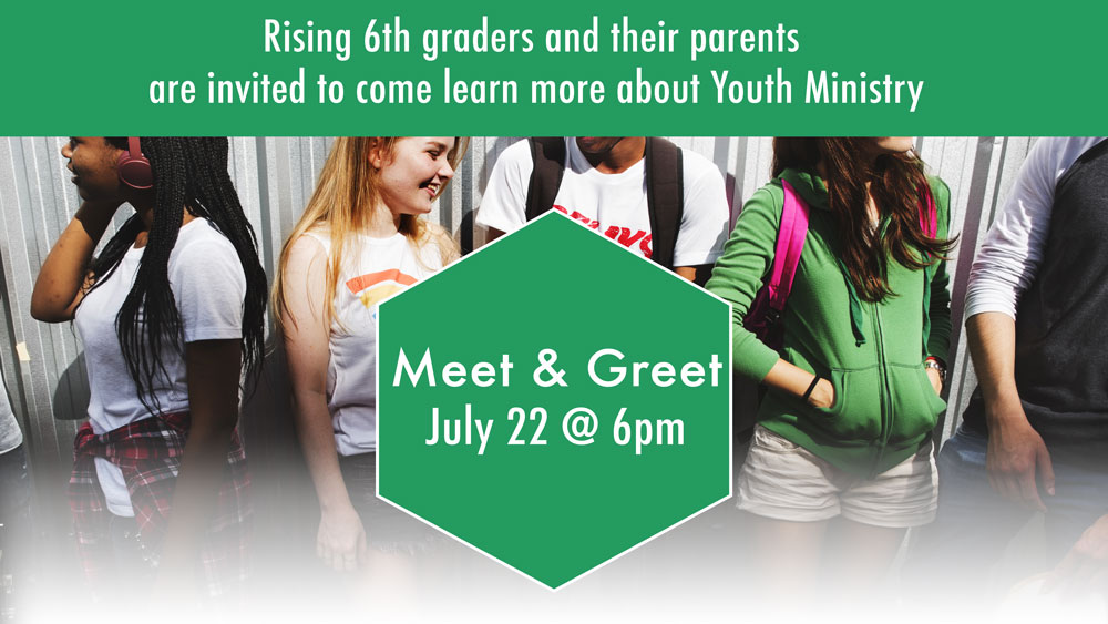 Youth Ministry Meet & Greet