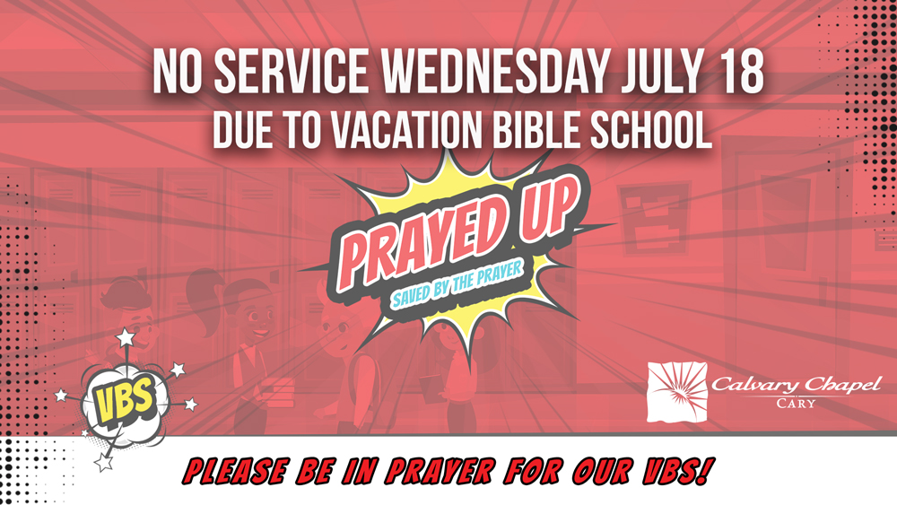No Services Wednesday, July 18