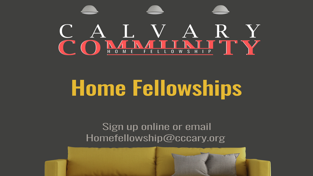 Calvary Community Home Fellowship