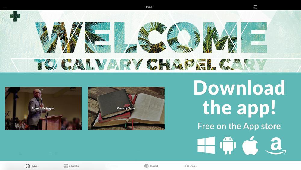 Calvary Chapel Cary App