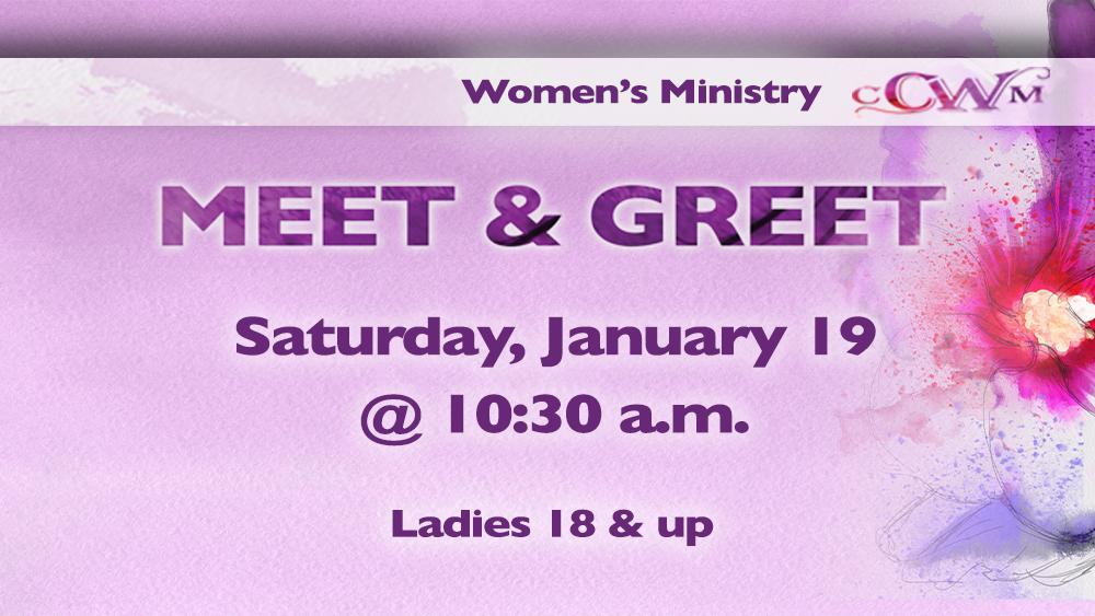 Women's Meet & Greet