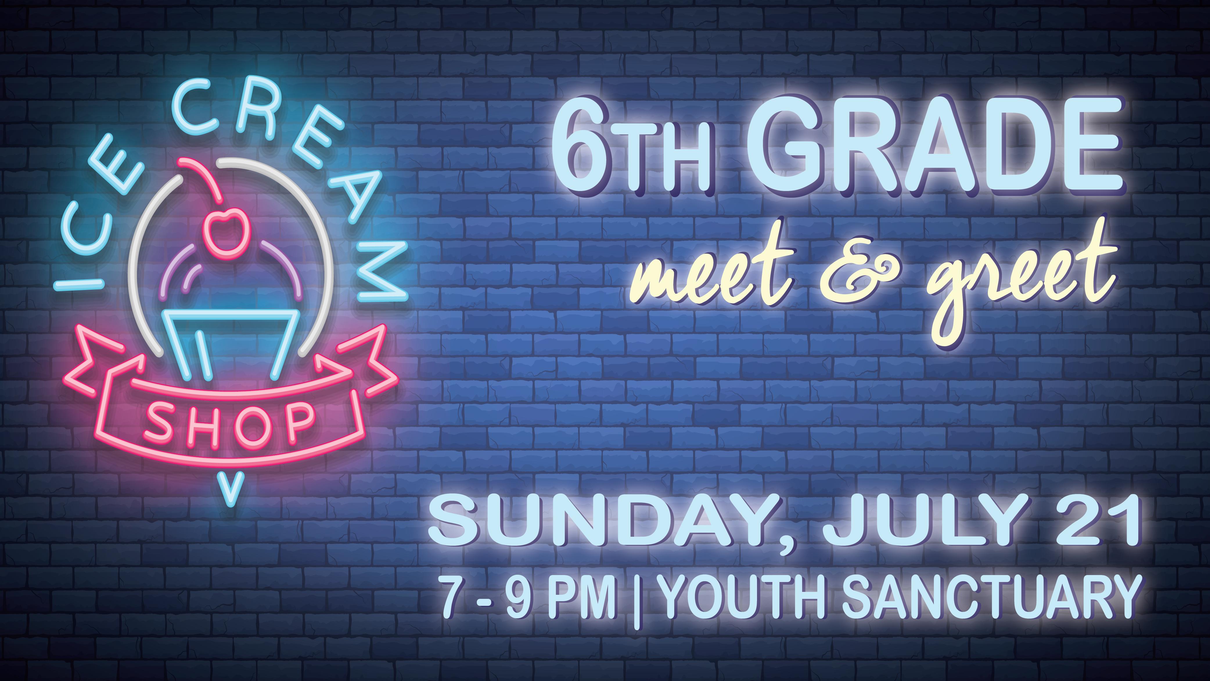 6th Grade Meet & Greet