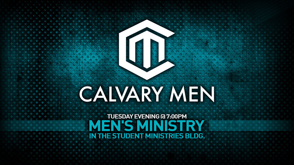 Calvary Mens Bible Study Web